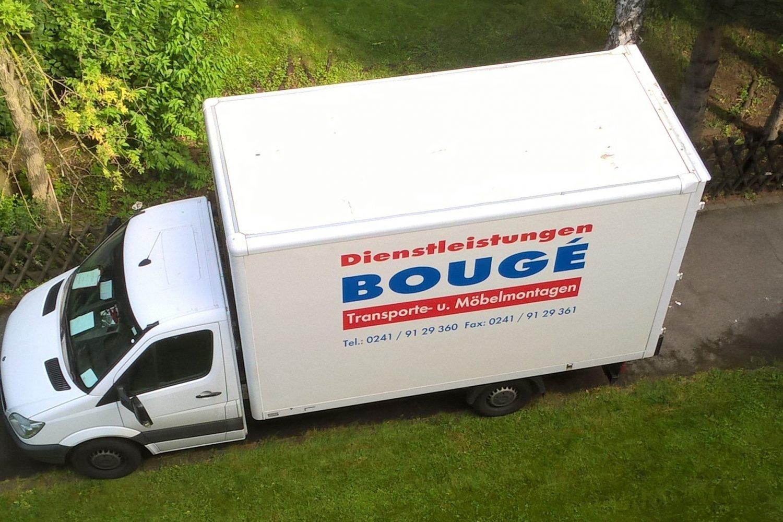 Transporte Anlieferungen Aachen Bouge